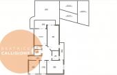 Quadrilocale Via Roma con giardino - VIV -planimetria con logo