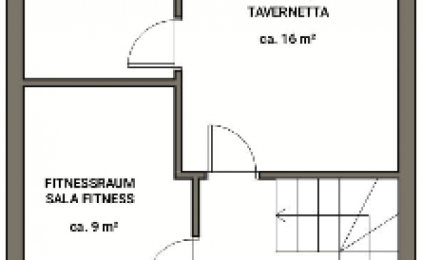 Villetta a schiera Lagundo piano interrato- BEATRICE CALLIGIONE IMMOBILIARE