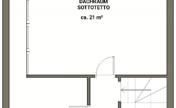 Villetta a schiera Lagundo piano mansarda - BEATRICE CALLIGIONE IMMOBILIARE