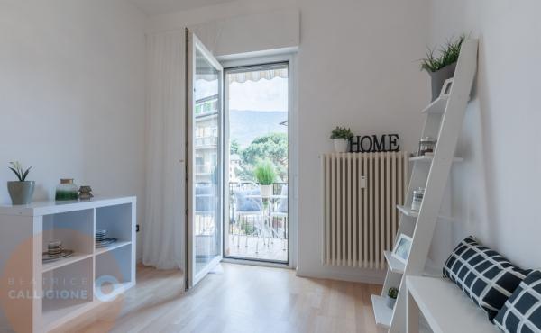 Quadrilocale -vista verso balcone - Beatrice Calligione